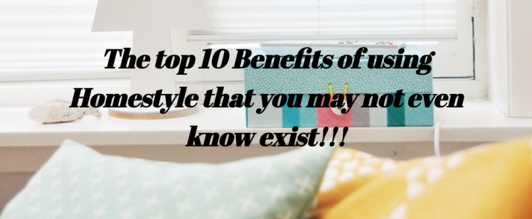 Top 10 Benefits of using Homestyle