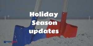 Holiday Season Update